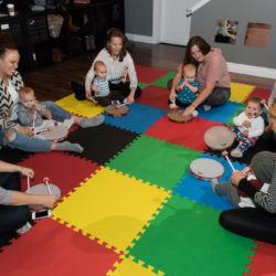 mom and tot baby music class Milton Ontario